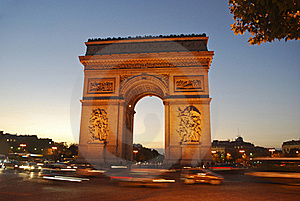 Arc De Triomphe Royalty Free Stock Photo - Image: 18758515