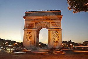 Arc De Triomphe Royalty Free Stock Photo - Image: 18758515