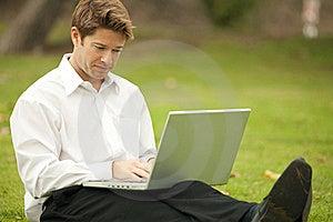 Man Working Stock Image - Image: 18758621