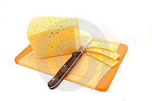 Cheese Cutting Royalty Free Stock Image - Image: 18758836