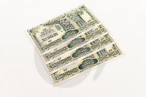 Ten Dollar Japanese Note Royalty Free Stock Image - Image: 18762586