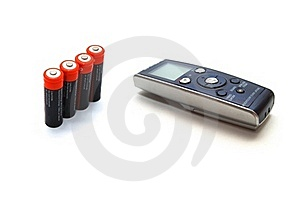 Voice Recorder Royalty Free Stock Photo - Image: 18764945