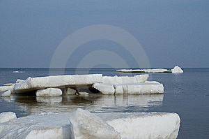 Ice On Sea Stock Image - Image: 18784881