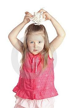 Little Girl Royalty Free Stock Photo - Image: 18786165