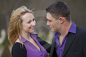 Happy And Laughing Couple Stock Photos - Image: 18787083