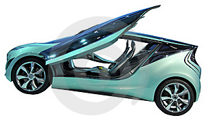 Concept Coupe Isolated Royalty Free Stock Photography - Image: 18788837