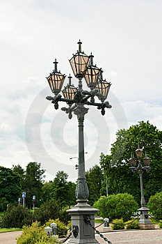 City Lights Of The Old Type Stock Photography - Image: 18789142