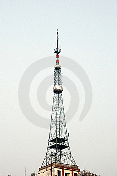 TV Tower Royalty Free Stock Photos - Image: 18794598