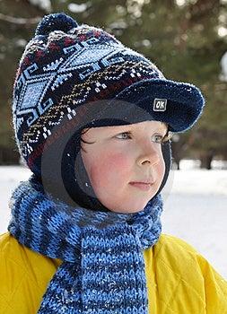 Winter Portrait. Stock Photos - Image: 18794993