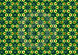 Ugly Green Retro Pattern Royalty Free Stock Image - Image: 1886086