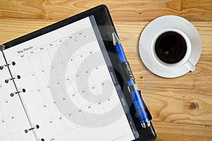 Coffee And Notebook Stock Photos - Image: 18801313