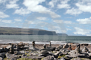 Doolin Beach With Rock Stacks Stock Images - Image: 18803104