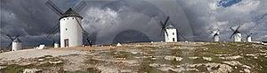 Windmills In Campo De Criptana Royalty Free Stock Photos - Image: 18804788