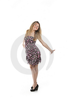 Energetic Woman Stock Images - Image: 18806324