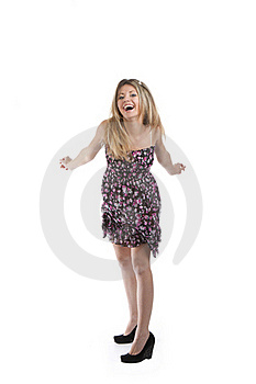 Energetic Woman Royalty Free Stock Photography - Image: 18806407