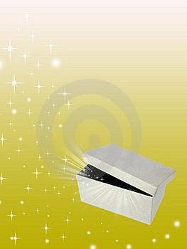Open Magic Gift Box Royalty Free Stock Photos - Image: 18806818