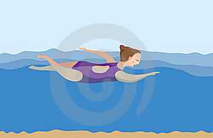 Swimming Royalty Free Stock Photography - Image: 18807337