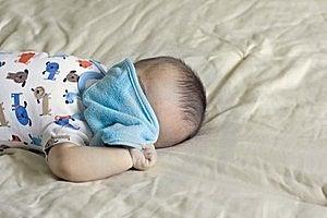 Happy Beautiful Hispanic Baby Boy Plays Peek-a-boo Royalty Free Stock Photo - Image: 18810275