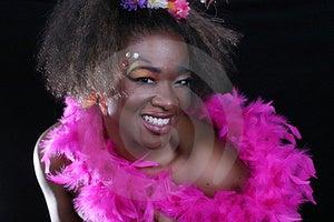 Donna Dell'afroamericano Fotografia Stock - Immagine: 18810350
