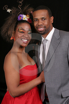 African American Couple Royalty Free Stock Photography - Image: 18810377
