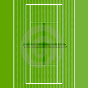 Grass Court Stock Images - Image: 18811454