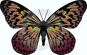 Mosaic Butterfly Stock Images - Image: 18812004