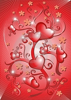 Love Card Royalty Free Stock Image - Image: 18813376