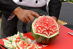 Fruit Carving Stock Image - Image: 18817221