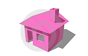 3d Sweed Home Royalty Free Stock Photo - Image: 18820715