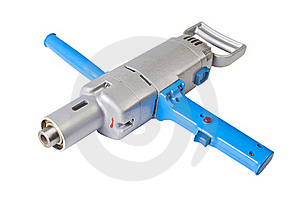 Big Electric Drill Royalty Free Stock Image - Image: 18820896