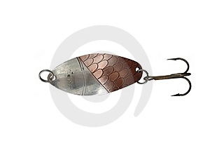Metal Angling Baits Stock Photos - Image: 18821603
