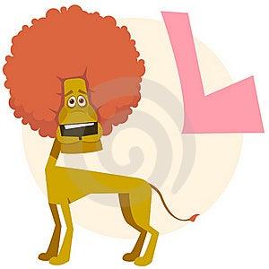 The English Alphabet. Lion Royalty Free Stock Photography - Image: 18822257