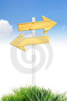 Direction On Sky Royalty Free Stock Photos - Image: 18823478