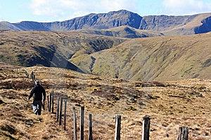 Walking In Snowdonia Stock Images - Image: 18824584