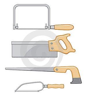 Coping Saw Backsaw Keyhole Saw Detail Saw Stock Image - Image: 18826341