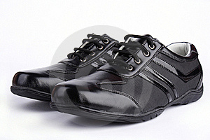 Leather Sport Shoe Royalty Free Stock Photography - Image: 18828987
