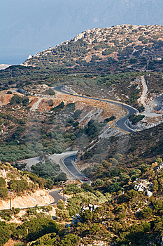 Winding Road In The Hills Stock Photography - Image: 18830322