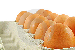 Eggs Package Royalty Free Stock Photo - Image: 18831735