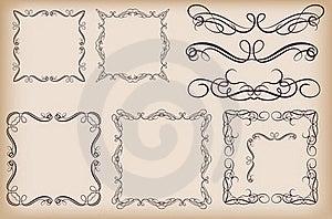 Decorative Elements Stock Photo - Image: 18838510