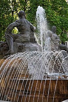 Fontana Angelica Stock Photos - Image: 18839473