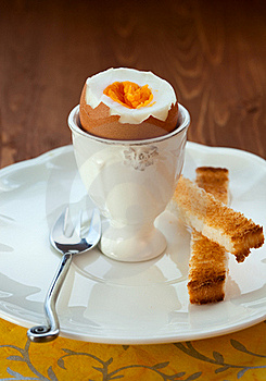 Boiled Egg Royalty Free Stock Photography - Image: 18848347