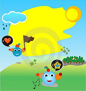 Harmony Summer Fan Stock Images - Image: 18850384