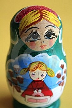 Russian Nesting Doll Royalty Free Stock Photography - Image: 18854547
