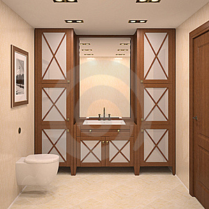 Modern Bathroom. Stock Photography - Image: 18856042
