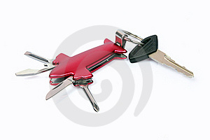 Multifunctional Tool With Key Royalty Free Stock Photo - Image: 18857375