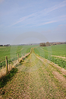 An English Rural Landscape Royalty Free Stock Photos - Image: 18859028