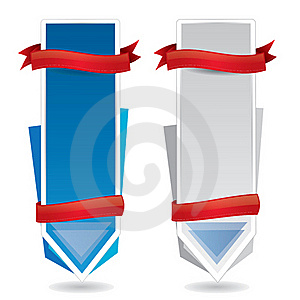 Vertical Promotional Banners Stock Photo - Image: 18862750