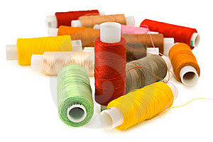 Group Of Spool Of Thread Stock Image - Image: 18864321