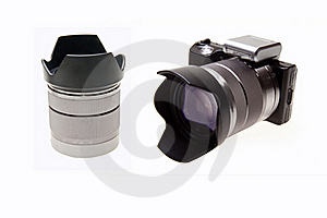 Digital Camera Royalty Free Stock Photo - Image: 18865775