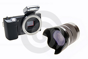 Digital Camera Royalty Free Stock Photo - Image: 18865785